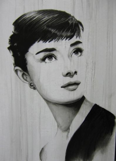 Audrey Hepburn by edwood.zero